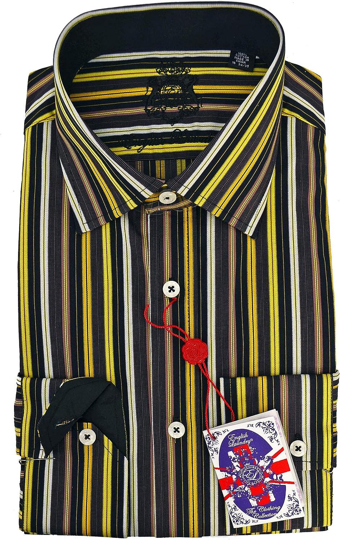 English Laundry Multi Stripe Dress Shirt