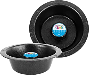 Platinum Pets SwitchIN Stainless Steel Slow Eating Wide Rimmed Bowl
