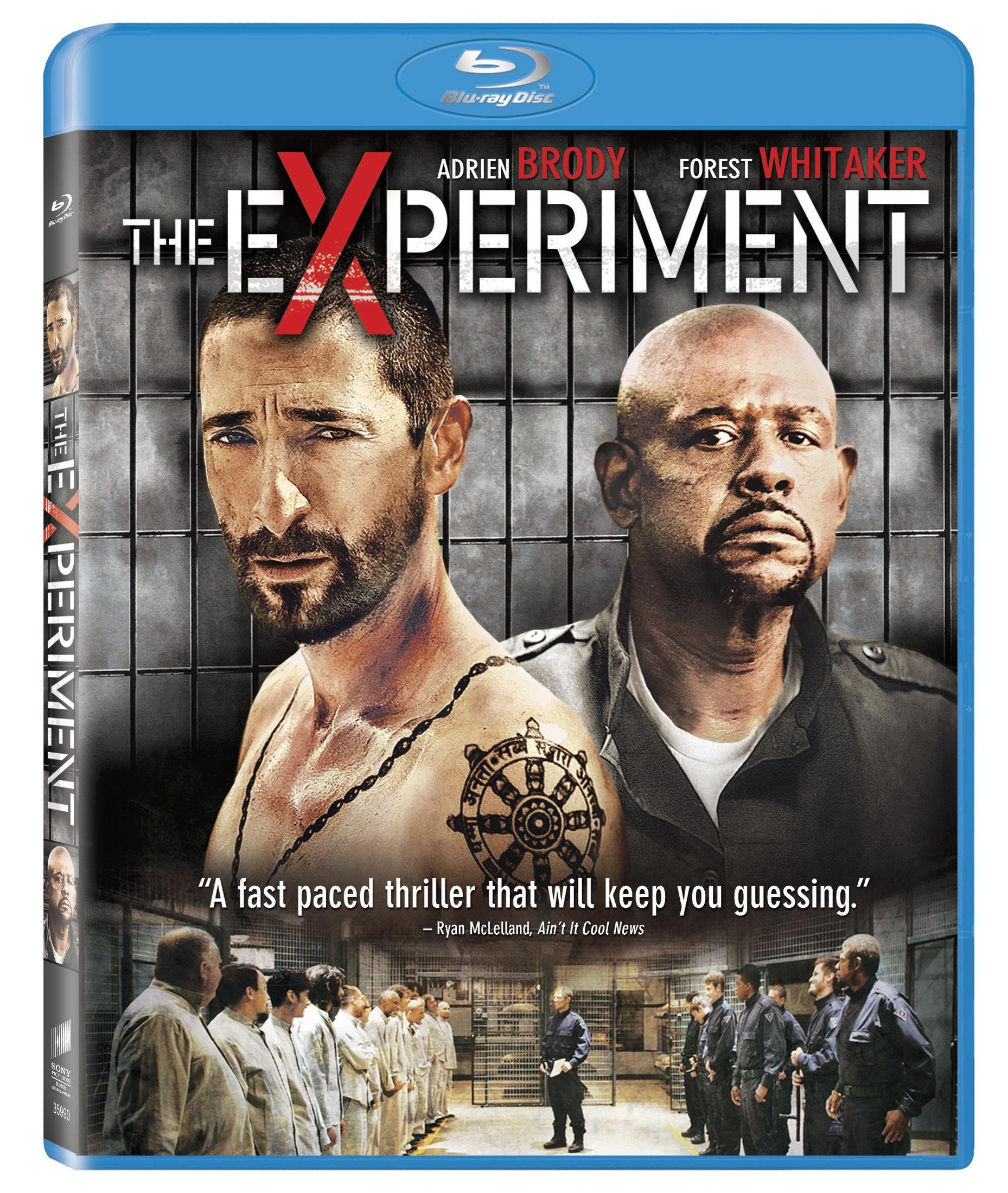 Blu-ray : The Experiment (, Dolby, AC-3, Widescreen)