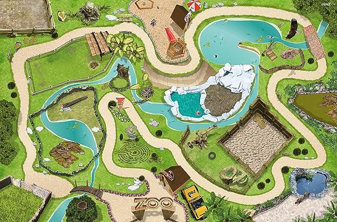 2 opinioni per Zoo / Parco giochi Gioca mat / Gioco tappeto- SM04- per la camera di bambini-