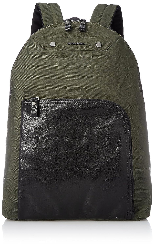 (ディーゼル) DIESEL メンズ バックパック L4MIX L-L4BACK backpack X05223P0054 B0745SV6XDカーキ UNI (Free)