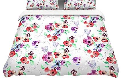 104 x 88 104 x 88 Kess InHouse Stephanie Vaeth Diamonds King Cotton Duvet Cover