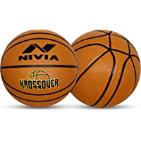 Nivia 3303 Rubber Kross Over Basketball, Size 7