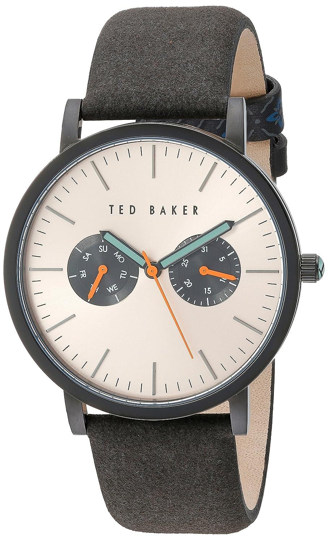 Ted Baker Gents mulyi Zifferblatt schwarz Ion Armbanduhr