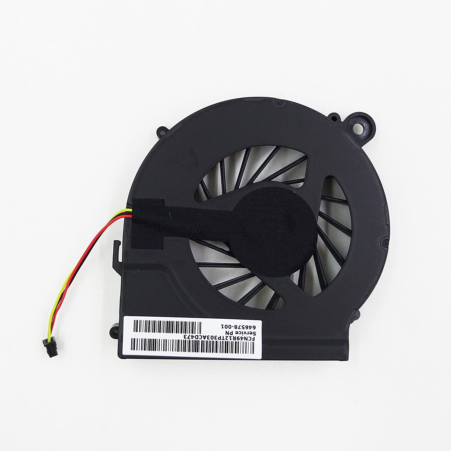 New Laptop CPU Cooling Fan for HP Compaq G62 G42 CQ42 CQ62 series, Compatible with 646578-001 606609-001 KSB06105HA