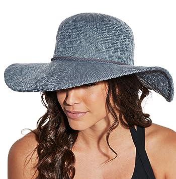 2de1857e05a57e CALIA by Carrie Underwood Women's Wide Brim Floppy Hat, (Asteroid Dust,  OneSizeFitsAll)