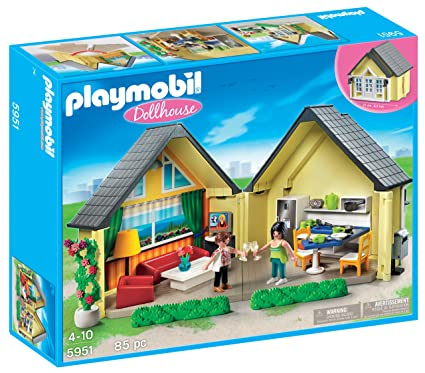 a053e7372 Buy PLAYMOBIL Dollhouse Online at Low Prices in India - Amazon.in