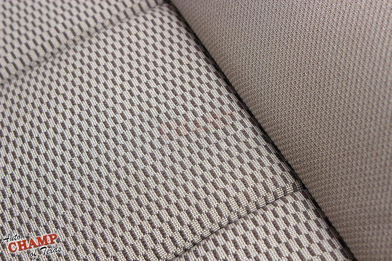 2003-2007 Ford F250 F350 XLT QUAD CAB X-CAB Driver Bottom Cloth Cover In Gray