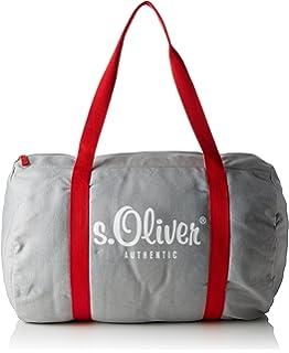 Shopper, Womens Bag, Blue (Blue Stripes), 10x25x30 cm (B x H T) s.Oliver