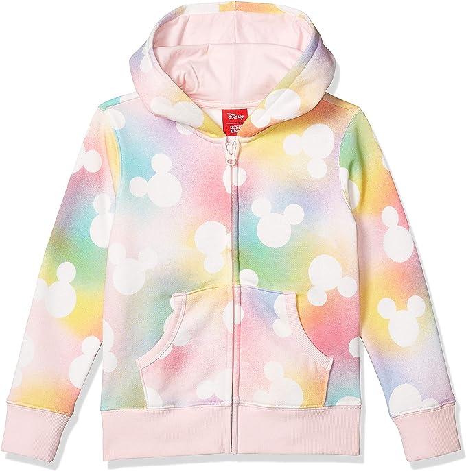 Spotted Zebra Girls Disney Star Wars Marvel Frozen Princess Fleece Zip-Up Sweatshirt Hoodies Brand