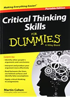 writing essays for dummies amazon co uk mary page carrie  critical thinking skills for dummies