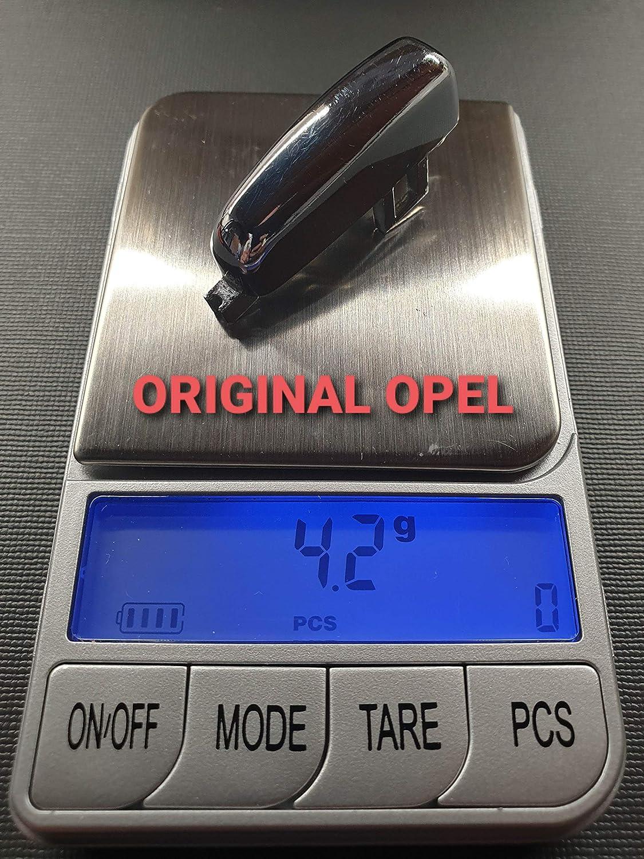 Ricambio Adatto a OPEL//VAUXHALL spare part Hand Brake button MOKKA//CROSSLAND Pulsante Tasto freno a mano IN METALLO CROMATO