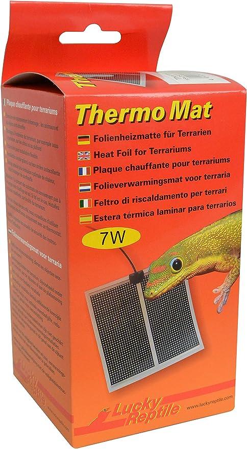 Lucky Reptile HTM de 14térmica Mat, Esterilla de calefacción para terrarios