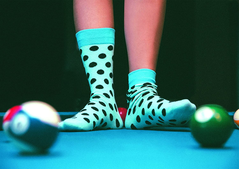Site 4 Soar Eyes Two Left Feet unisex-adult standard Two Left Feet Novelty Halloween Crew Sock