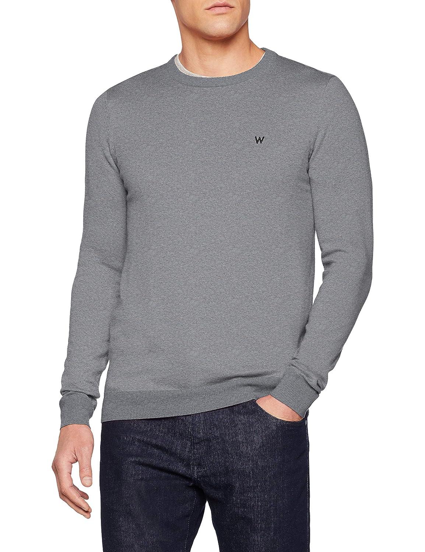TALLA S. Wrangler Crew Knit suéter para Hombre