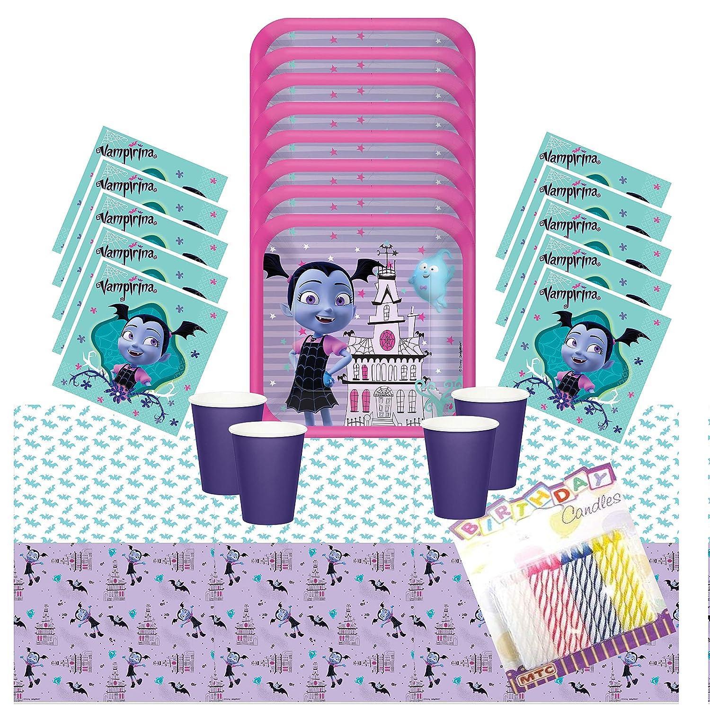 Disney Vampirina Party Supplies Pack sirve 16 - Platos de ...