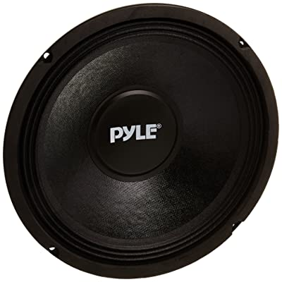 10 Inch Car Midbass Woofer - 600 Watt High Powered Car Audio Sound Component Speaker System w/High-Temperature Kapton Voice Coil, 50Hz-5kHz Frequency, 89.2 dB, 8 Ohm, 50 oz Magnet - PylePro PPA10: Car Electronics