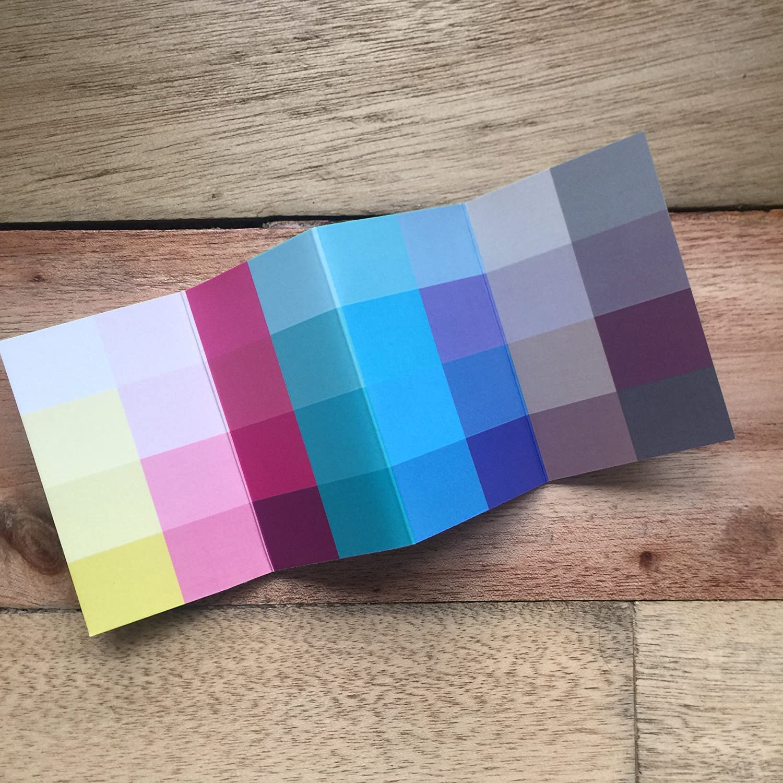 Großer Farbpass Sommertyp 32 Farben Farbkarte Sommer Sommerfarben ...