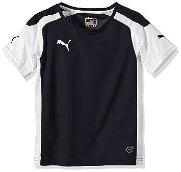 Puma T-Shirt Mens Speed Jersey - Camiseta de equipación de fútbol para niño, color azul, talla 10 años (140 cm): Amazon.es: Deportes y aire libre