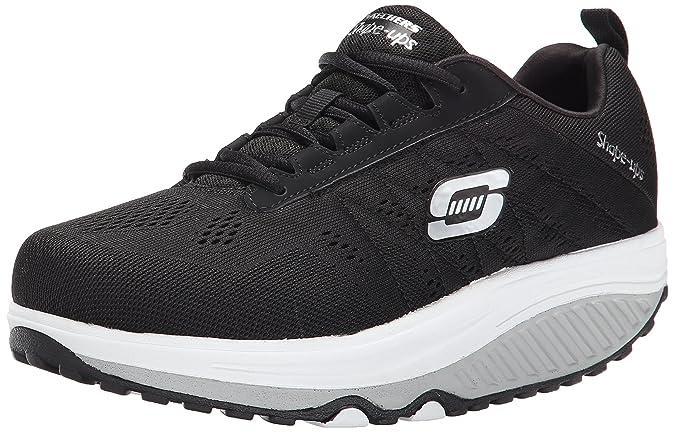 SkechersShape-ups 2.0 - Zapatillas Mujer, Negro - negro (Bkw ...