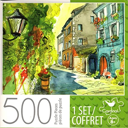 Small Summer Street 500 Piece Puzzle