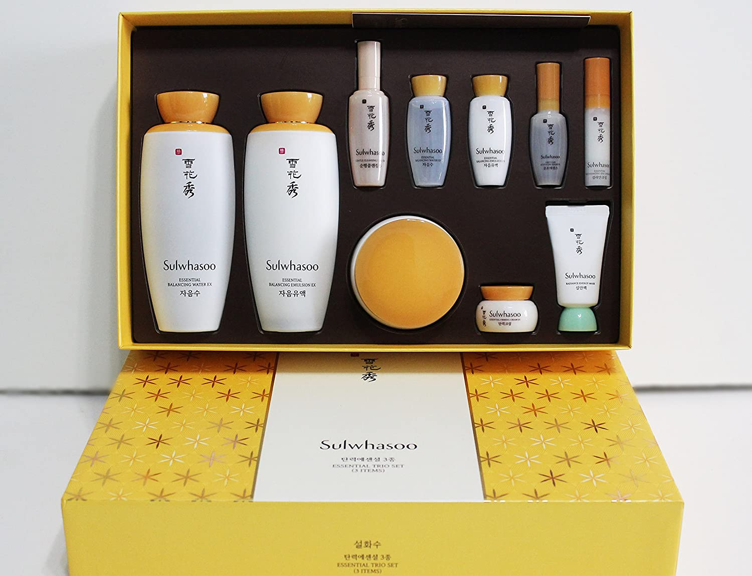 Sulwhasoo Essential Trio Special Gift Set And Hair Tie Time Treasure Renovating Water Ex 125ml Beauty