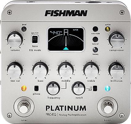 Fishman PRO-EQ Platinum - Previo para guitarra acústica con ...