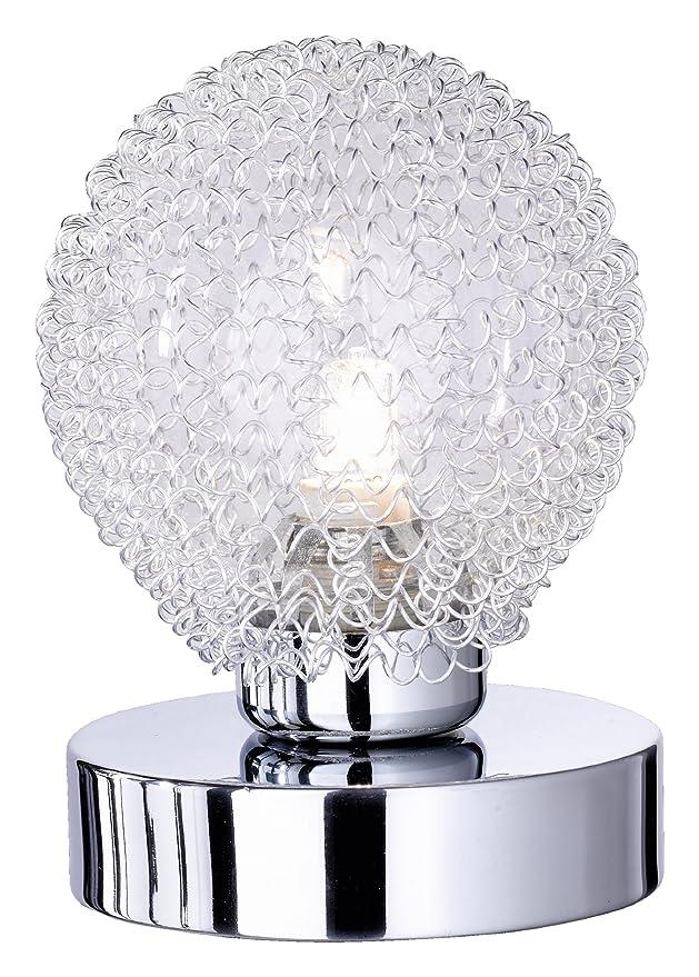 150 opinioni per Reality Leuchten Reality R59321106 Wire Lampada Tavolo, 1xG9, 28 W Alogena,
