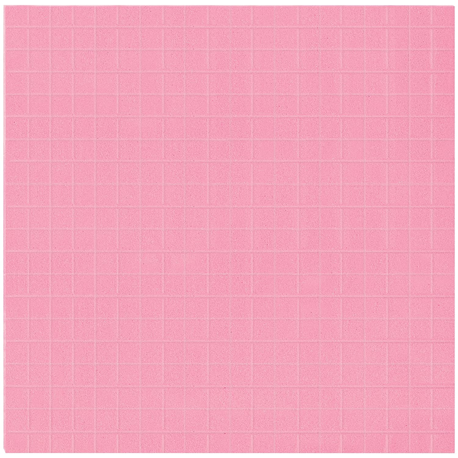 1//2 Squares 24 x 24 x 1 12//Case Anti-Static Pick and Pack Foam Pink