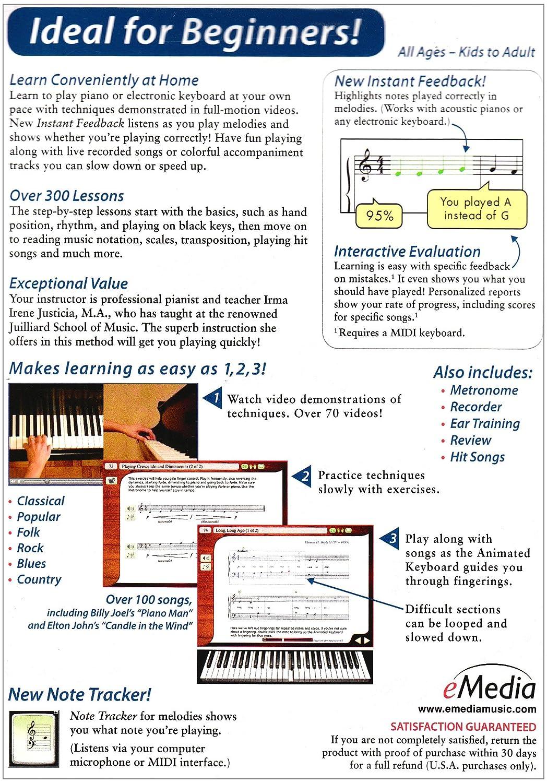 Amazon emedia piano and keyboard method v3 emedia software baditri Choice Image
