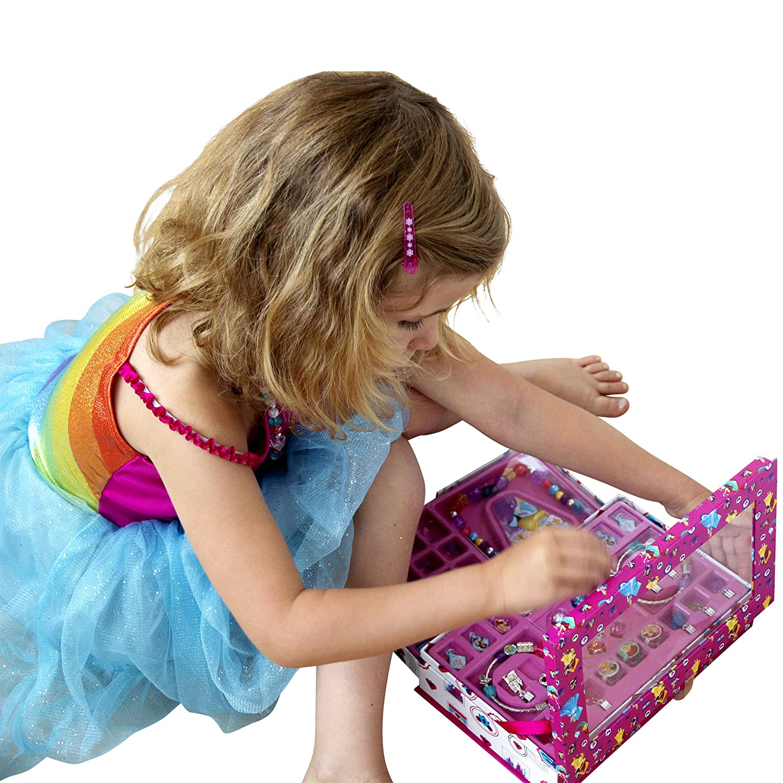 kd fashion Coffret Charms Bijoux Disney Princesses T18106