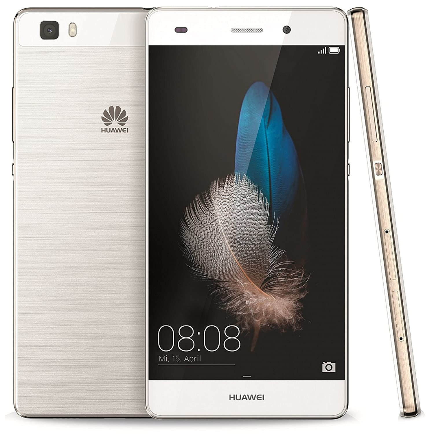 Huawei P8 Lite ALE-L23 Factory Unlocked 16GB Latin Version (American 4G LTE Bands)(Gold)
