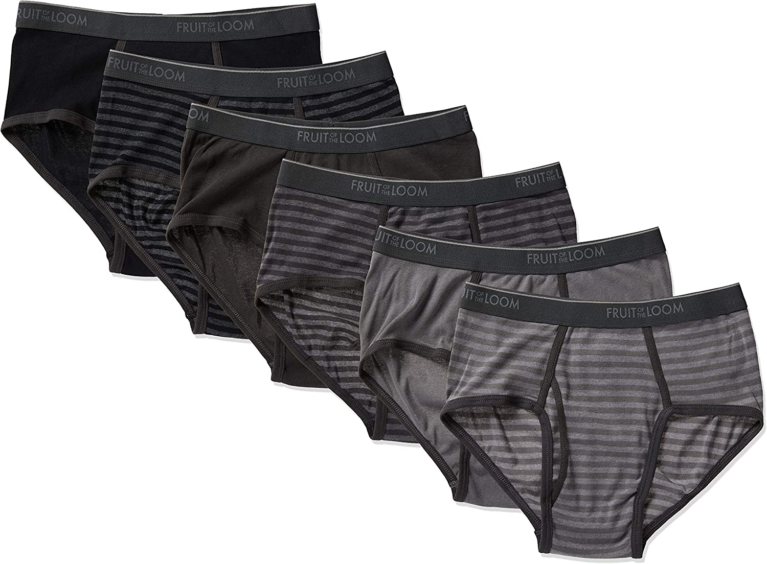 Fruit of the Loom Men's Tag-Free Cotton Briefs at  Men's Clothing store