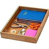 "YBM Home & Kitchen Bamboo Drawer Organizer Box 14""Lx10""Wx2""H #319"