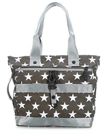 Nylon Roots Freerange Handtasche green_olive x George Gina Lucy I1PhRkevr