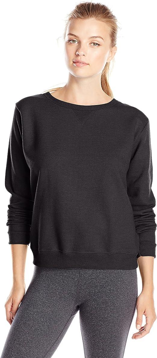 TALLA S. Hanes Womens Comfortsoft Ecosmart Crewneck Sweatshirt (O4633)