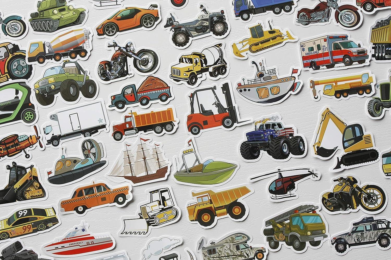 50Pcs Cute Dinosaur Stickers Funny Hard Hat Stickers Vinyl Dino Stickers for Kids T Rex Sticker Dinosaur Decals