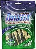 Twistix Dental Chews for Pets with Vanilla Mint Flavor, Large (156.1 gm)
