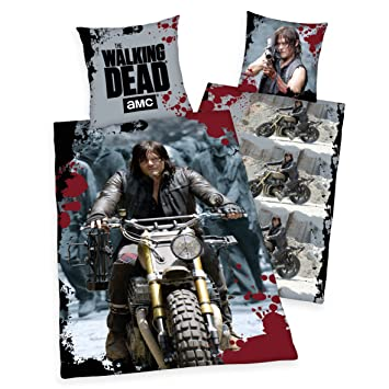 Joy Toy T23145 The Walking Dead Wendebett Wäsche Daryls Ride Bunt