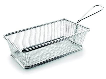 Lacor Cestillo Rectangular, Acero Inoxidable, Gris, 21 cm ...