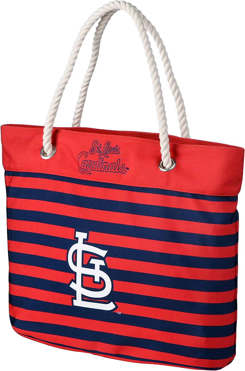 FOCO MLB Unisex-Adult Nautical Stripe Tote Bag