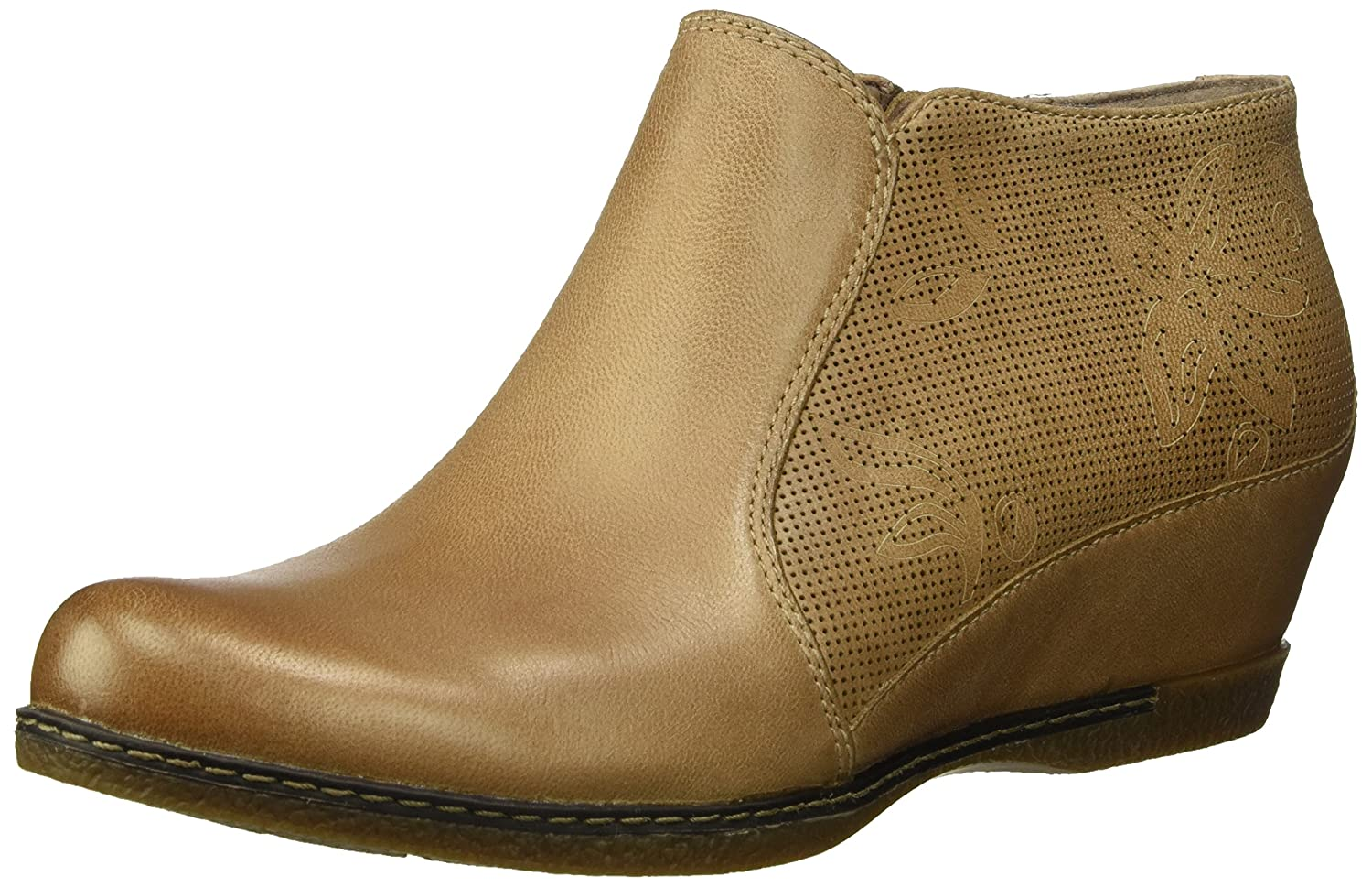 Dansko Women's Luann Ankle Boot B072WG774Y 37 M EU (6.5-7 US)|Taupe Burnished Nubuck