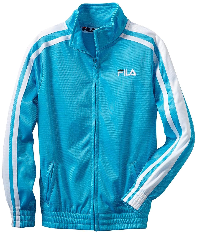 Blue Fila Big Girls Classic Tricot Track Jacket
