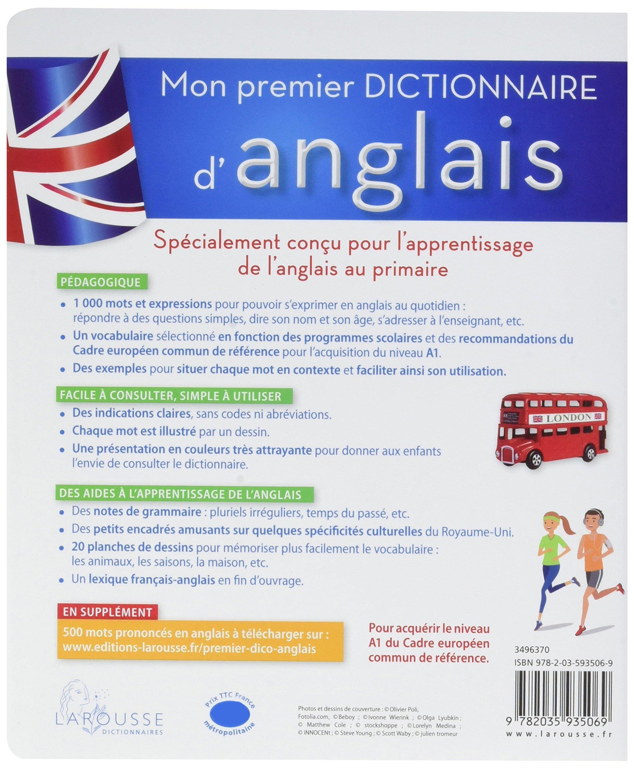 Salle De Bain Ambiance Hammam ~ Amazon Fr Mon Premier Dictionnaire D Anglais Larousse Collectif