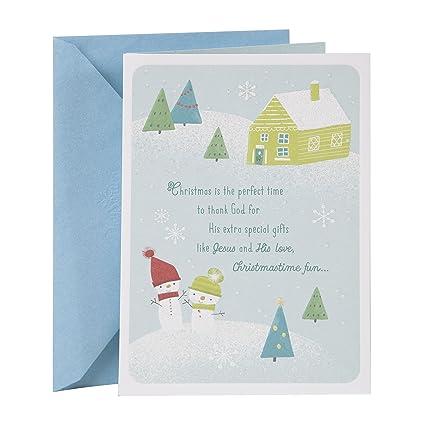 Amazon.com: DaySpring Religious Christmas Card for Grandparents ...