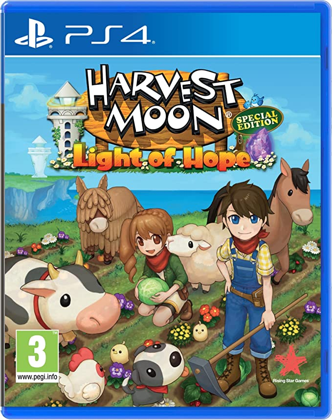 Harvest Moon Light of Hope - Special Edition: Amazon.es: Videojuegos