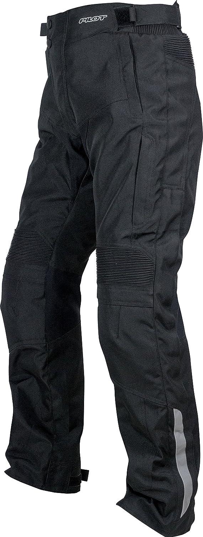 32-34, Tall, V2 3000601-02 Black, Medium - Tall Pilot Motosport Mens Omni Air Mesh Motorcycle Over Pants