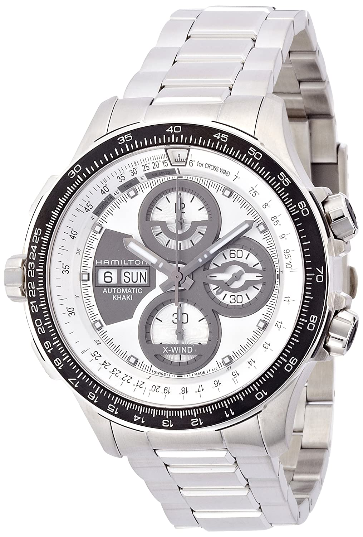 [ハミルトン]HAMILTON 腕時計 Khaki X-Wind Limited Edition(カーキ X-ウィンド リミテッドエディション) 世界限定1999本 H77726151 メンズ 【正規輸入品】 B00KCXNN9A