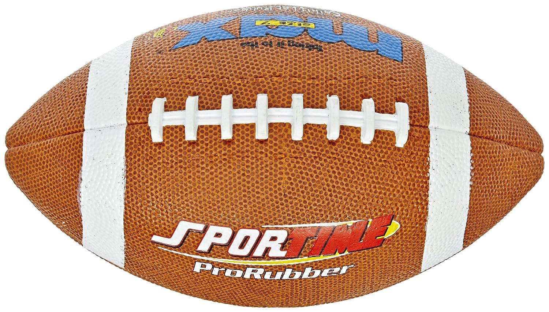 SportimeMax ProRubber #7 - Balón de fútbol (intermedio): Amazon.es ...