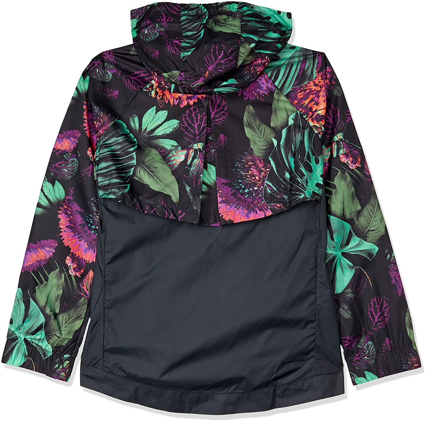 dc3946d6978 Amazon.com : Nike Girls Sportswear Printed Windrunner Jacket : Clothing